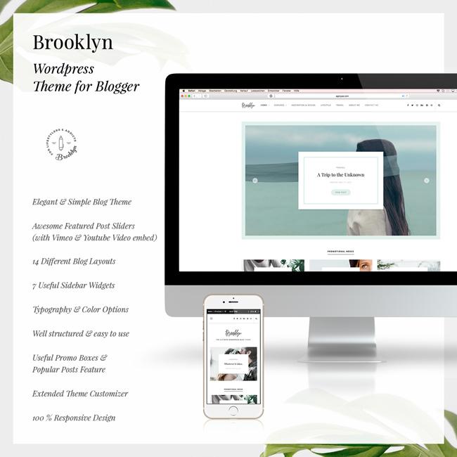 Bklyn - WordPress Blog Theme - 6