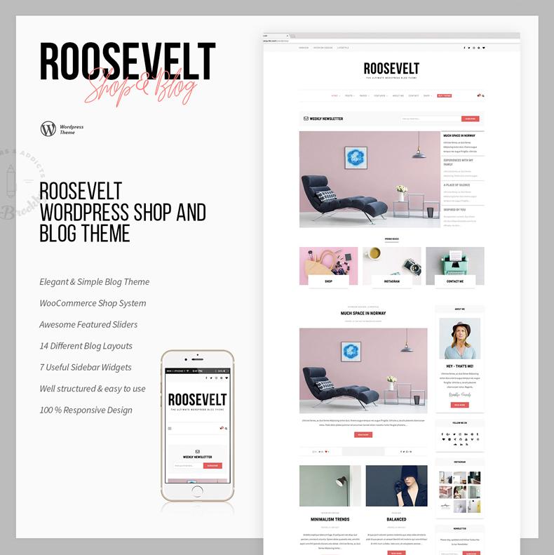 Roosevelt - Responsive WordPress Blog Theme - 5